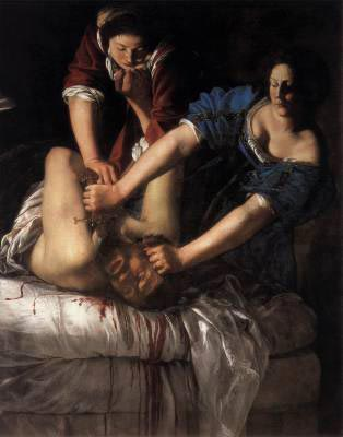 Image by painter Artemisia Gentileschi
