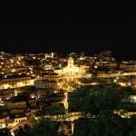 modica's lights at night