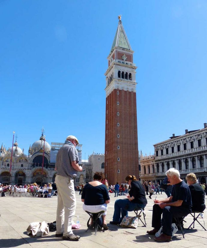St. Mark's square in Venice