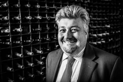 Wine Merchant Chris Pollingtion