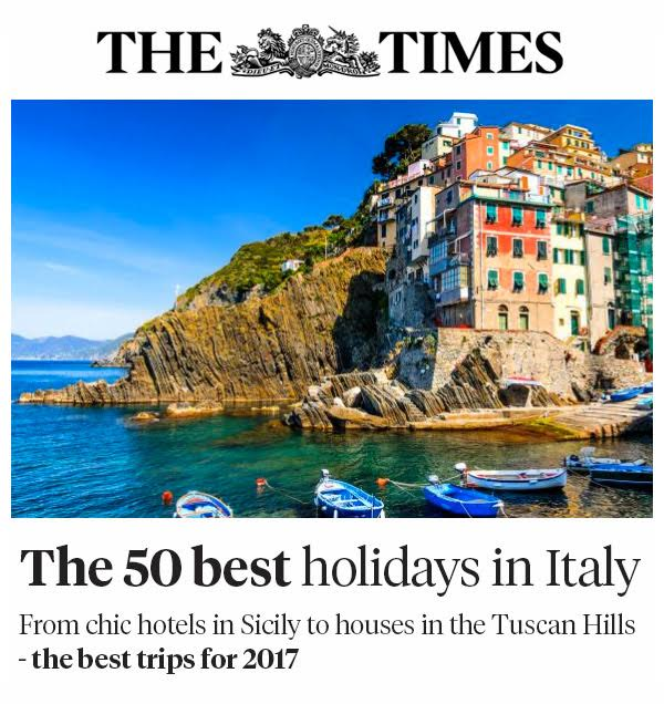 The Times - The 50 Best Holidays in Italy