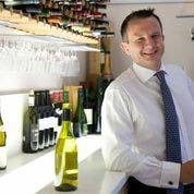 Wine merchant Will Hargrove talking about wine