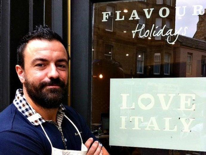 Flavours chef Alessio.