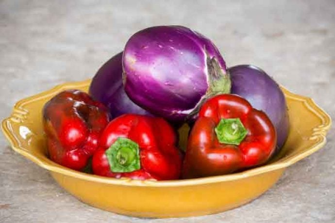 delicious looking Italian vegetables in bowl