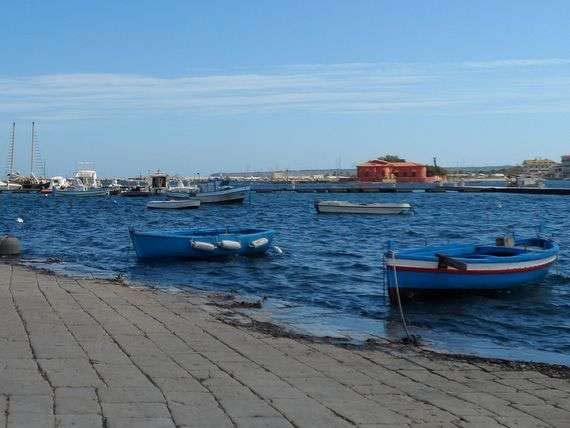 A beautiful seascape in Sicily.