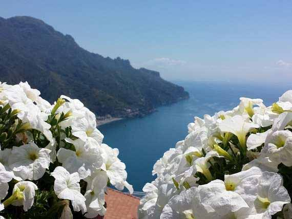 Breathtaking view of Amalfi coast from Ravello.