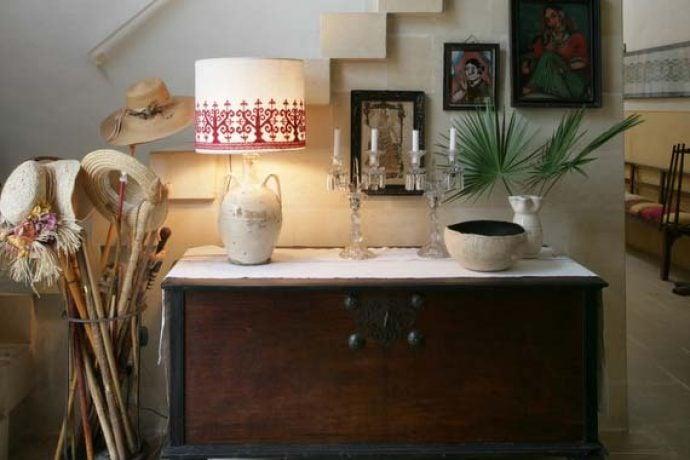 Furnished bedroom in our private villa in Puglia