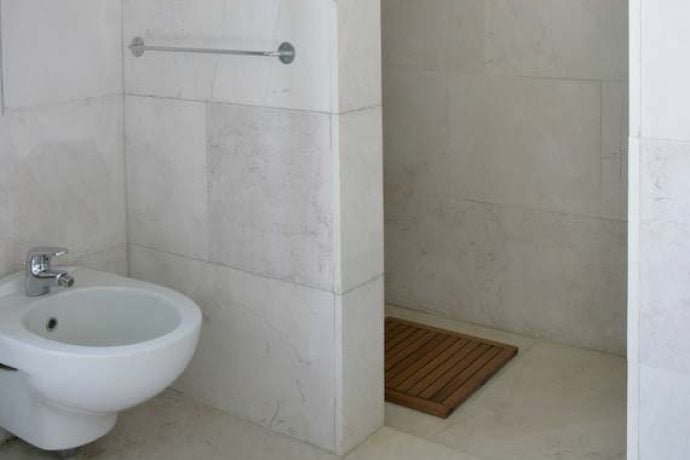 Luxurious bathroom in private villa puglia