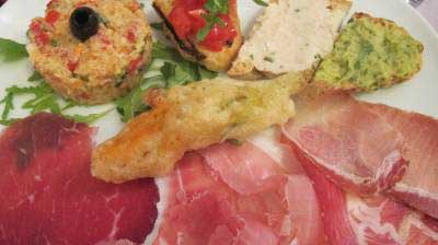 Authentic Italian snacks perfect with an aperitivo