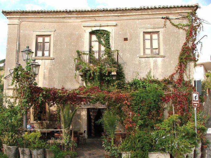 Godfather Town Sicily Bar Vitelli Italy film locations