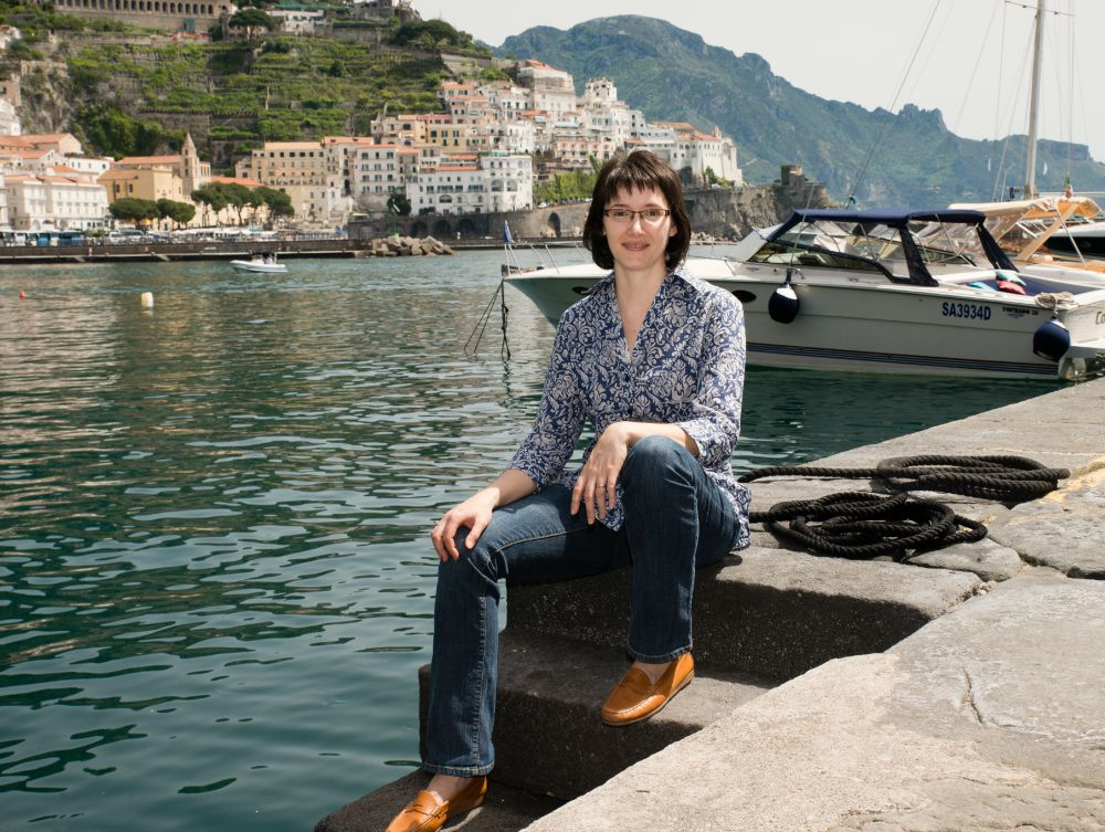 Laura Thayer in Amalfi