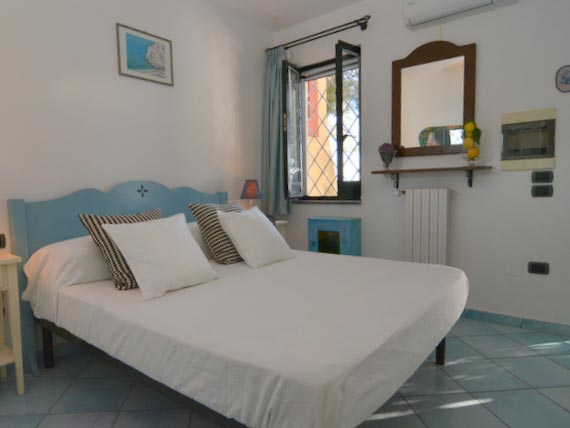 Double bedroom in our Amalfi villa.