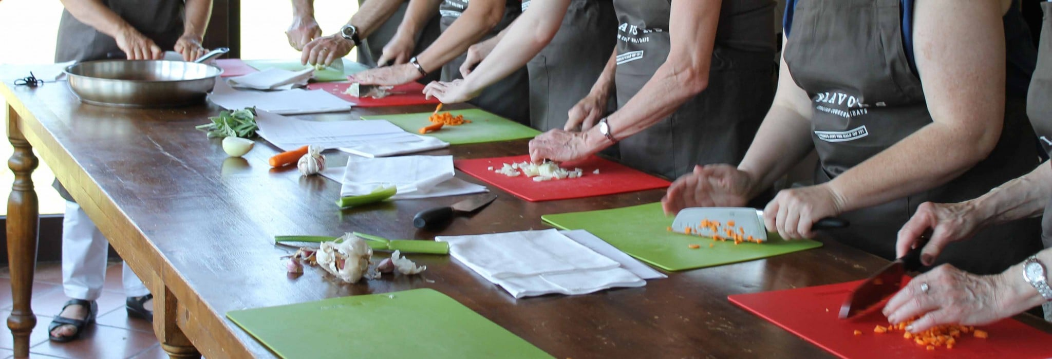 Why anyone can learn to cook italian food flavours holidays most of the hard work is done as a group meaning you dont have to tackle a full recipe by yourself straight away taking on small tasks to prepare a meal solutioingenieria Choice Image