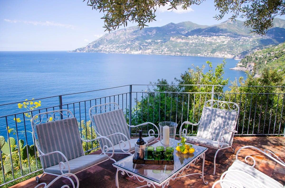 Saracen tower villa in Amalfi