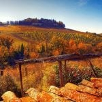 Tuscany landscape in Autumn