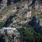 Hidden house on the cliffs of the Amalfi Coast