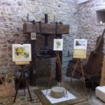 Painting exhibition in Sicily