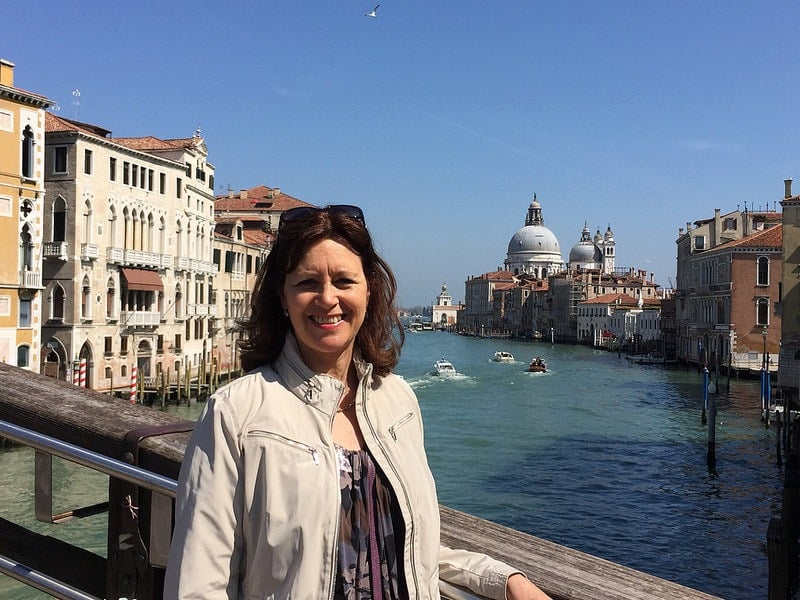 Travel Blogger Heather in Venice