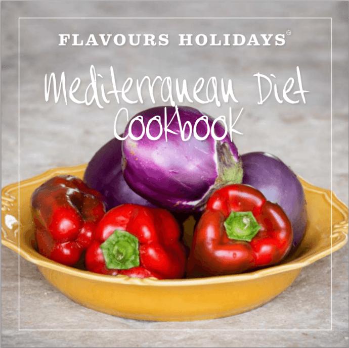 Cpver of Flavours Mediterranean Diet RecipeEbook