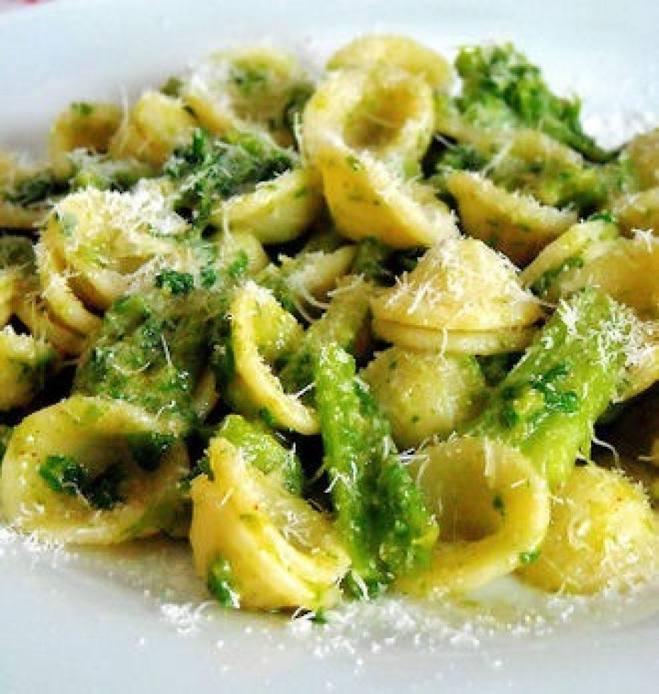 orecchiette pasta with broccoli rabe recipe