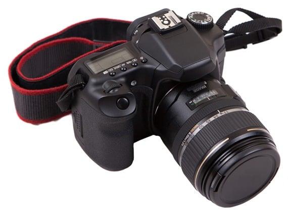 Digital SLR camera.