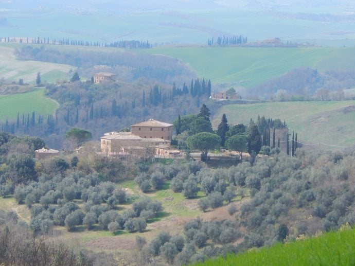 Crete Senesi area of Tuscany