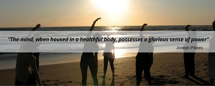 Joseph Pilates' quote about the mind