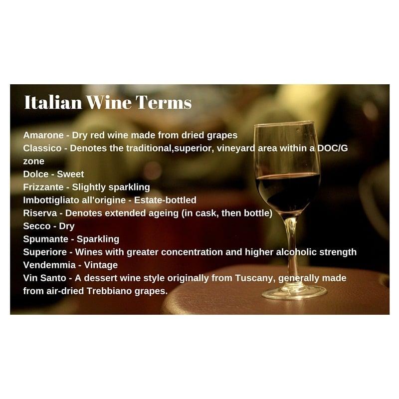 Italian wine terms