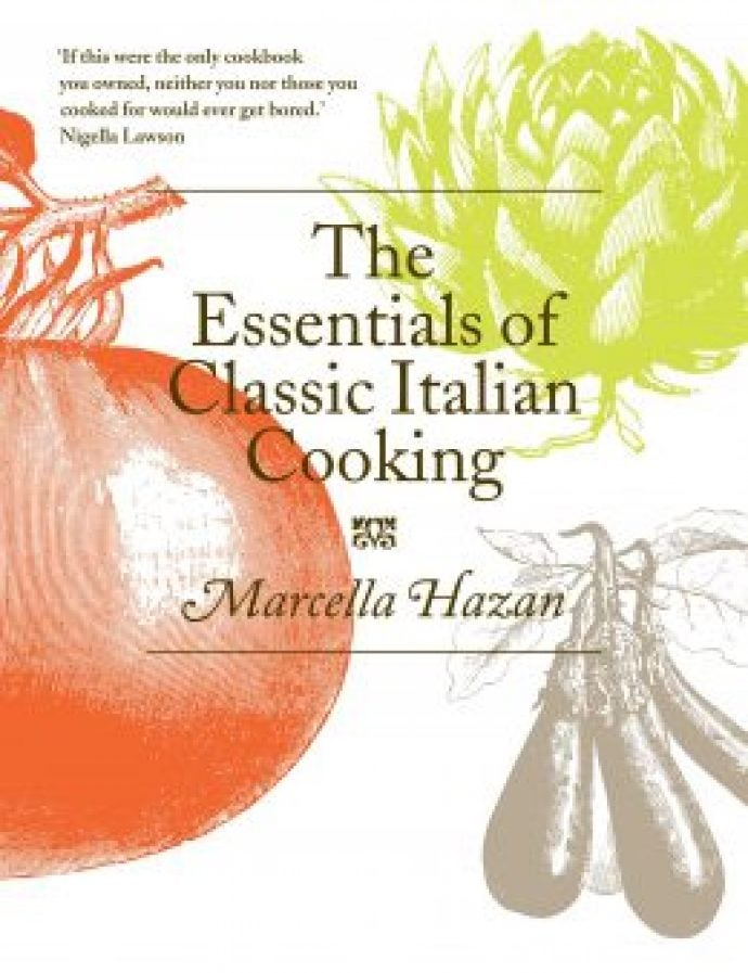 The Essentials of Classic Italian Cooking front cover