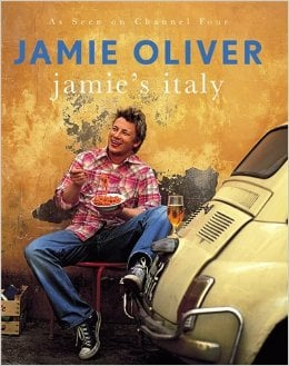 front cover of Jamie's Italy cookbook