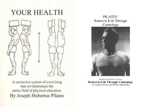 Joseph Pilates' books