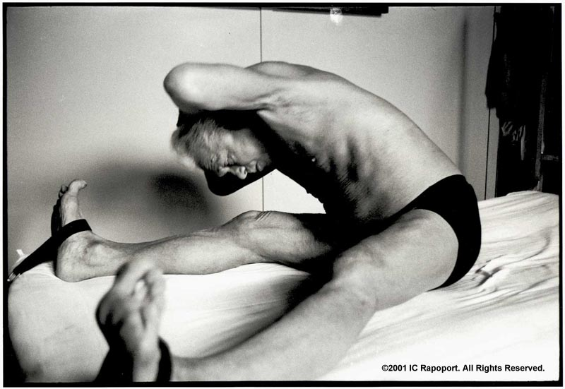 Joseph Pilates stretching
