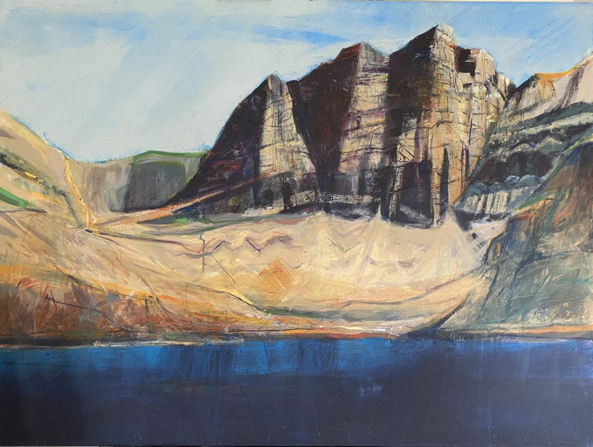 Painting of Coir Mhic Fhearchair by Hugh Tuckerman
