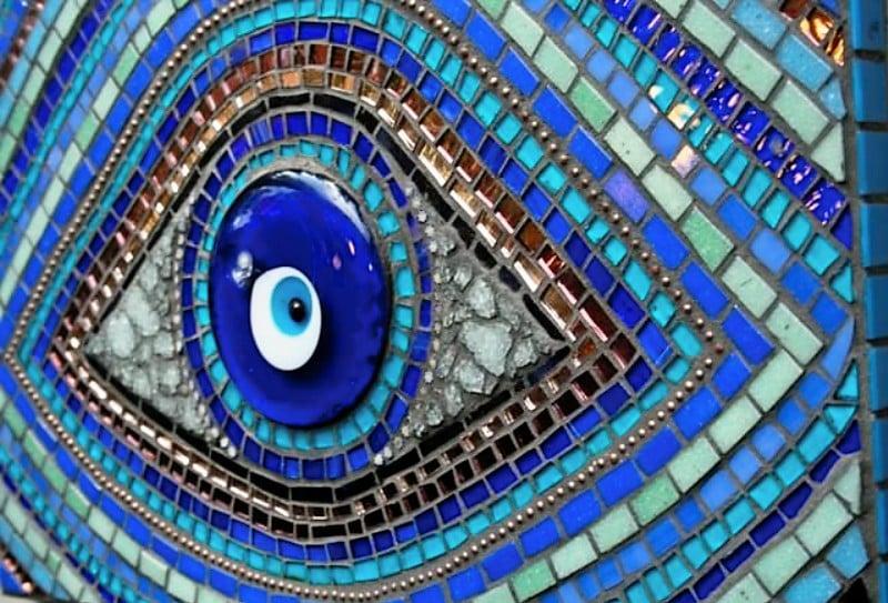 Evil Eye Mosaic