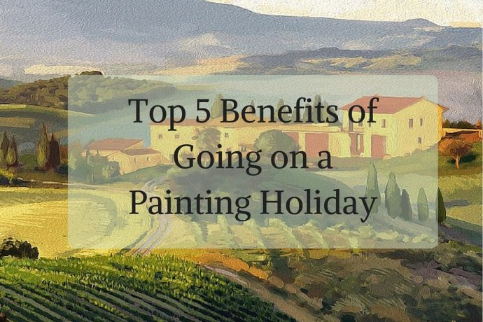 Featured image for Benefits of Going on a Painting Holiday post