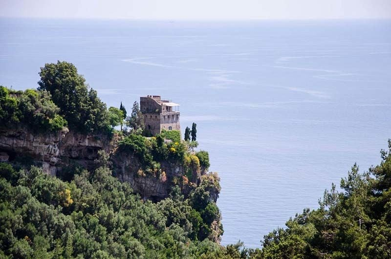Beautiful Amalfi scenery