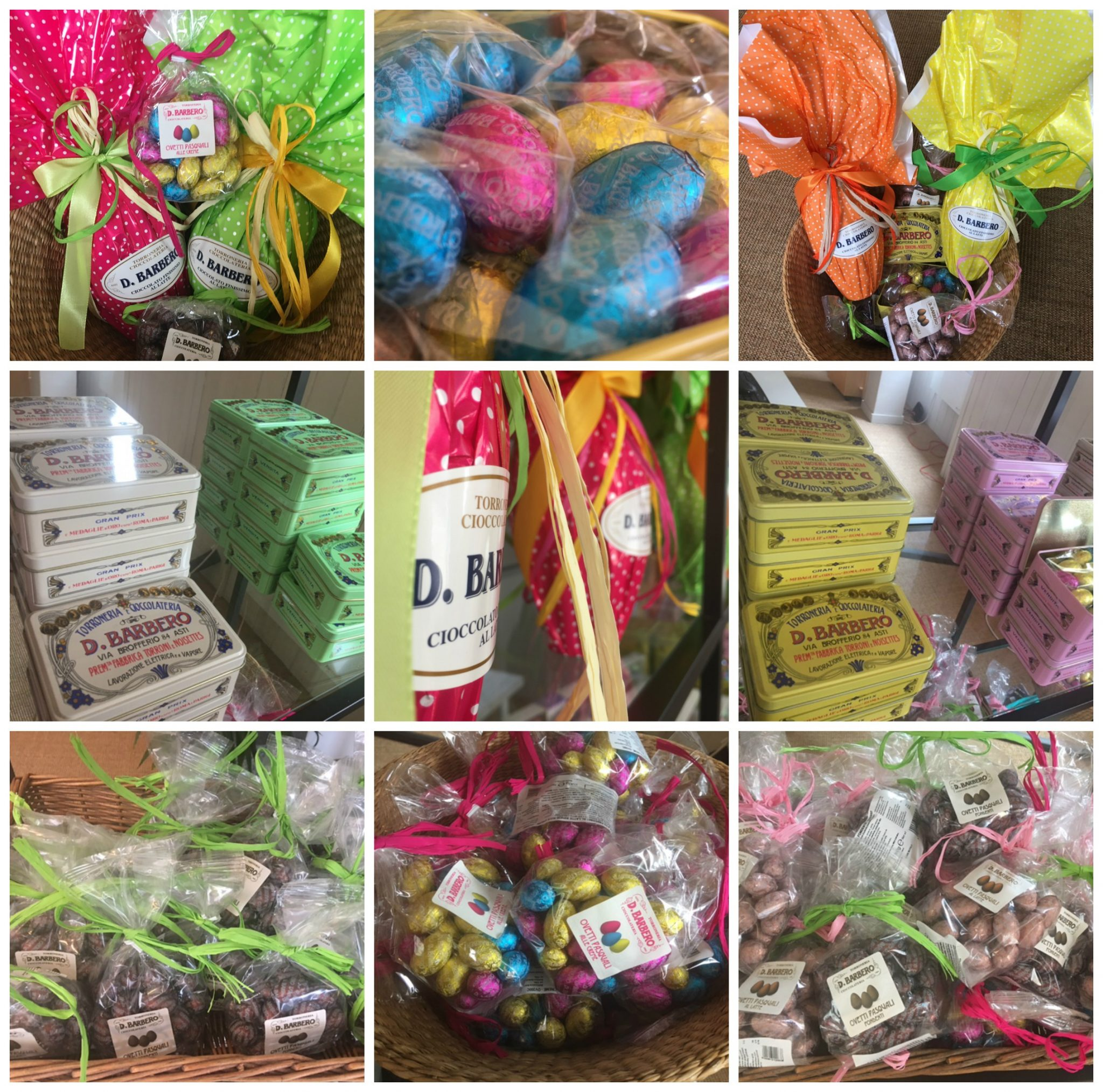 Barbero Easter selection