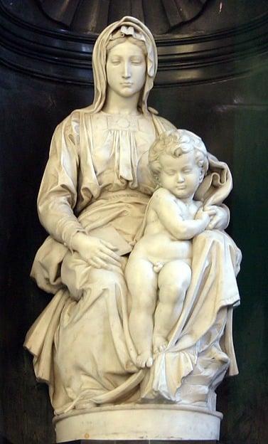 Michelangelo Bruges Madonna