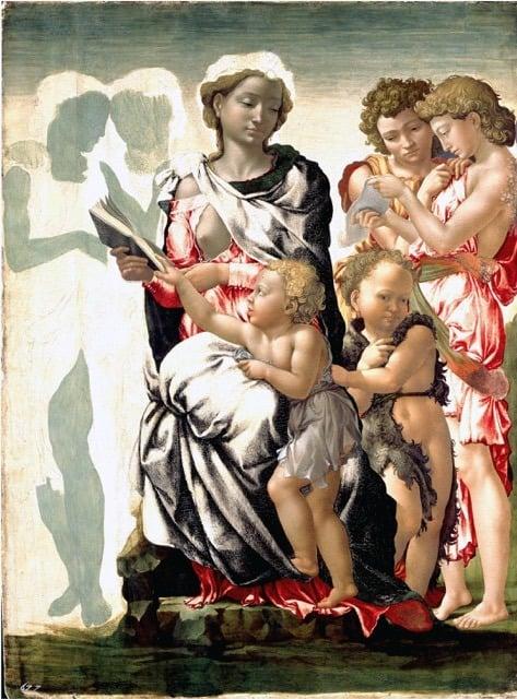 Michelangelo Manchester Madonna