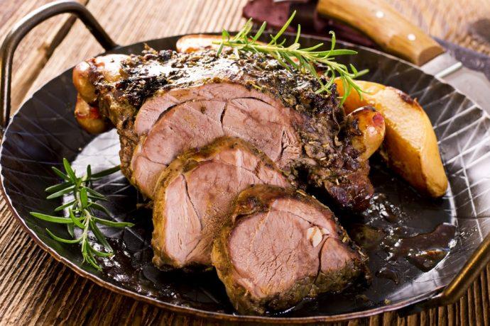 Italian Easter lamb recipe