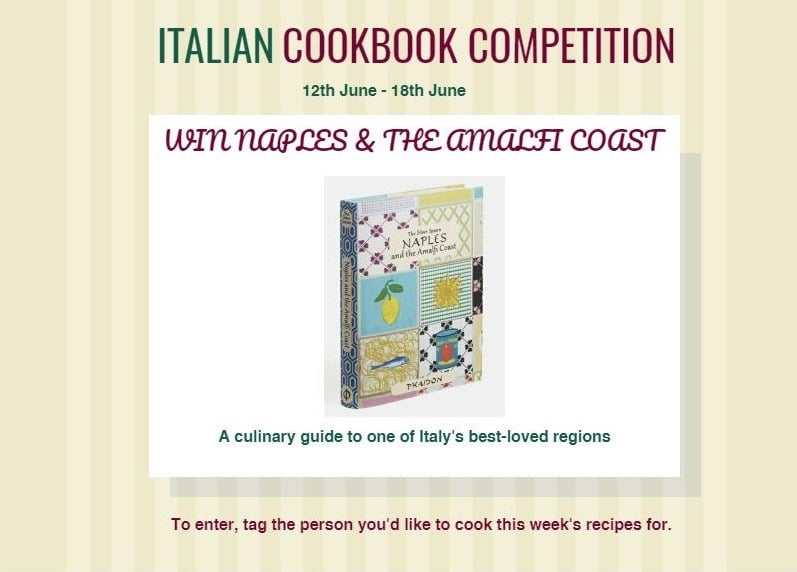 Amalfi Cookbook Competition