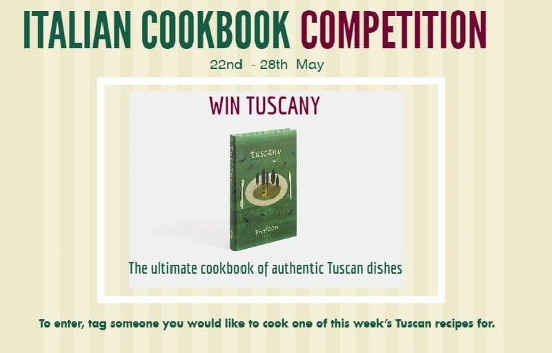 Tuscany Cookbook competition