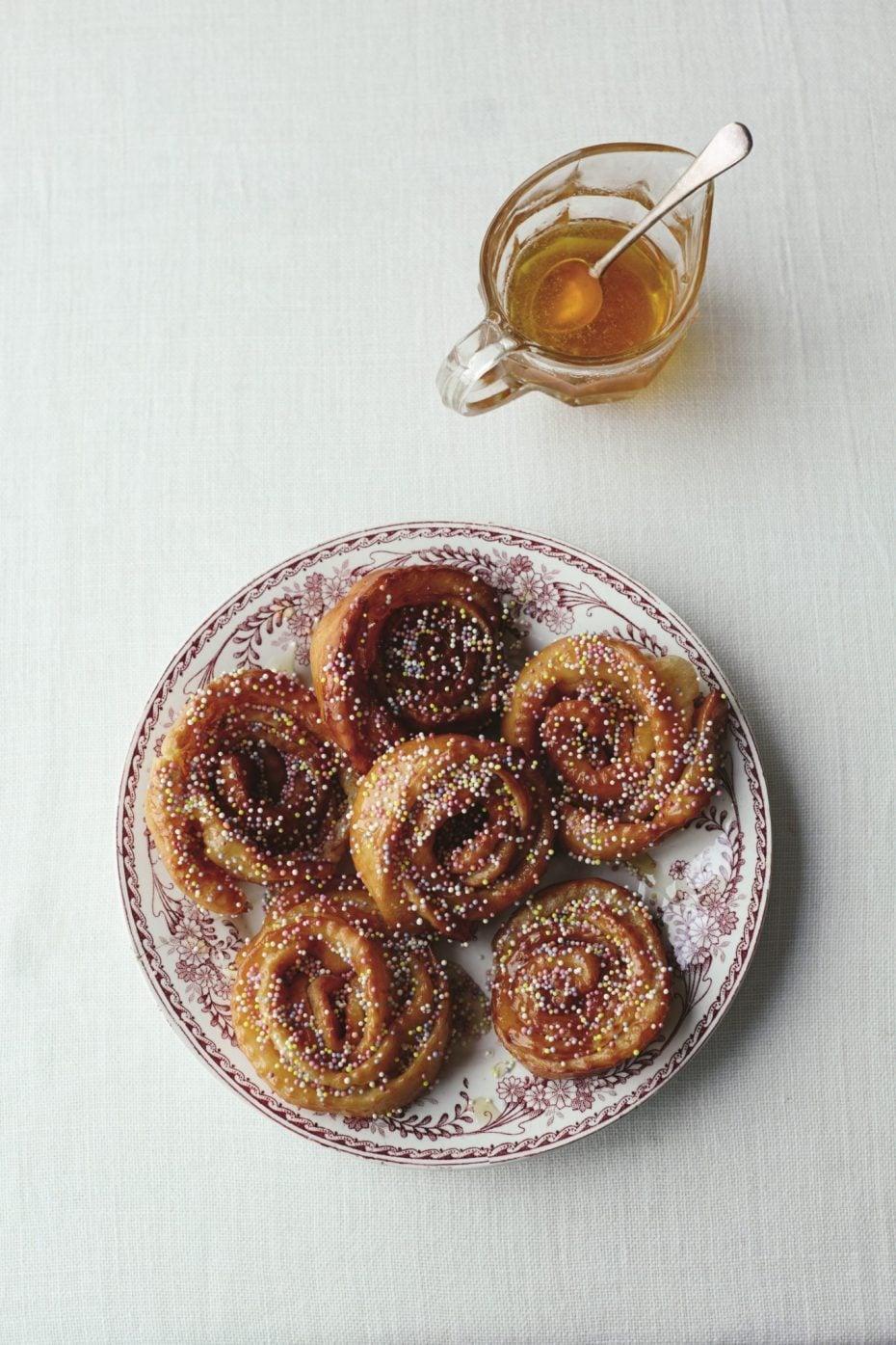 pastry flowers recipe