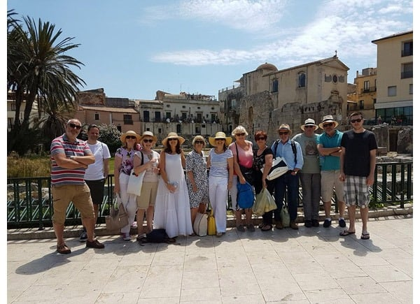 Flavours Holidays guests in Italy