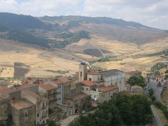Sicily Sperlinga Hills