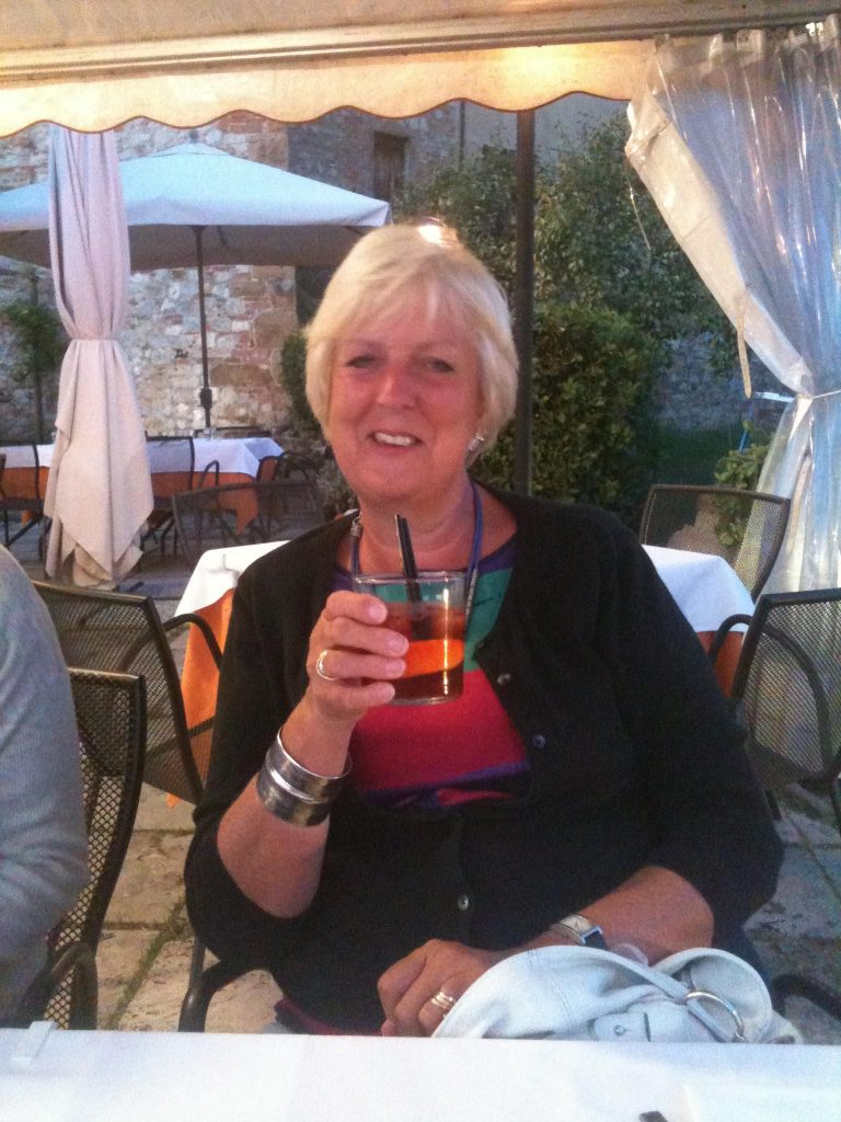 Flavours guest sipping drink in Sicily, Italy