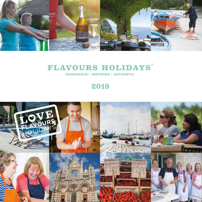 Flavours Holidays 2019 Brochure Cover