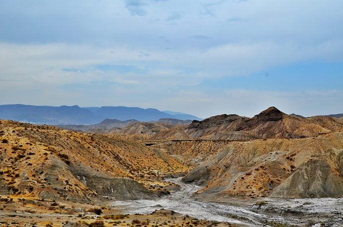 The Tabernas Desert