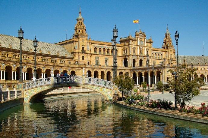 Plaza Espana Seville Spain