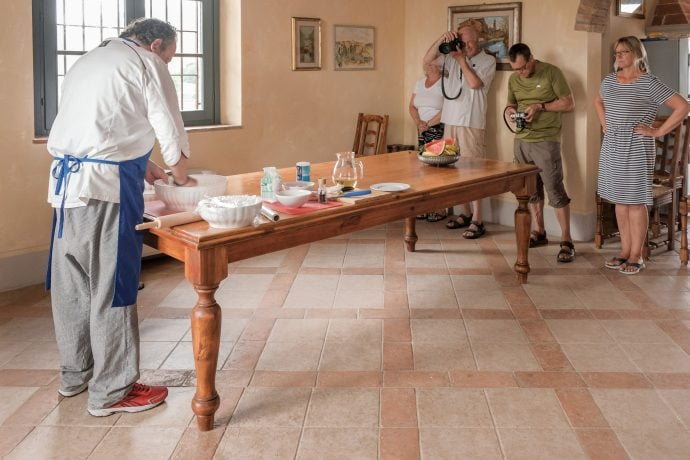Tuscany Photography Holiday Food Prep and Cooking